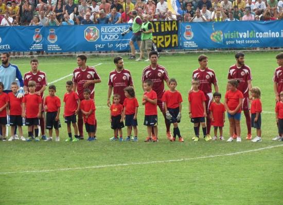 Trastevere Calcio, applausi nonostante la sconfitta.