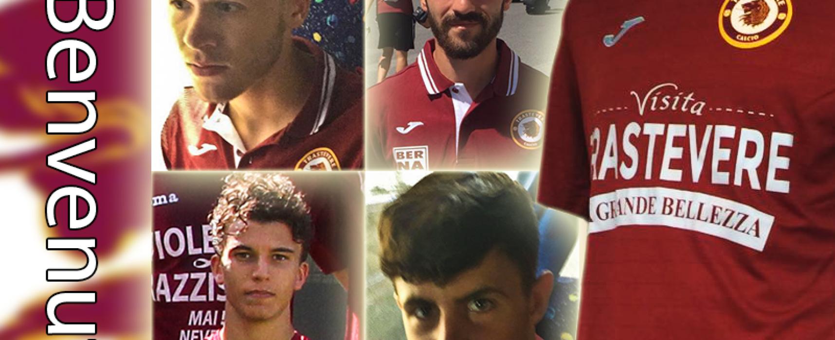 ASD Trastevere Calcio – Operazioni di Calcio Mercato.