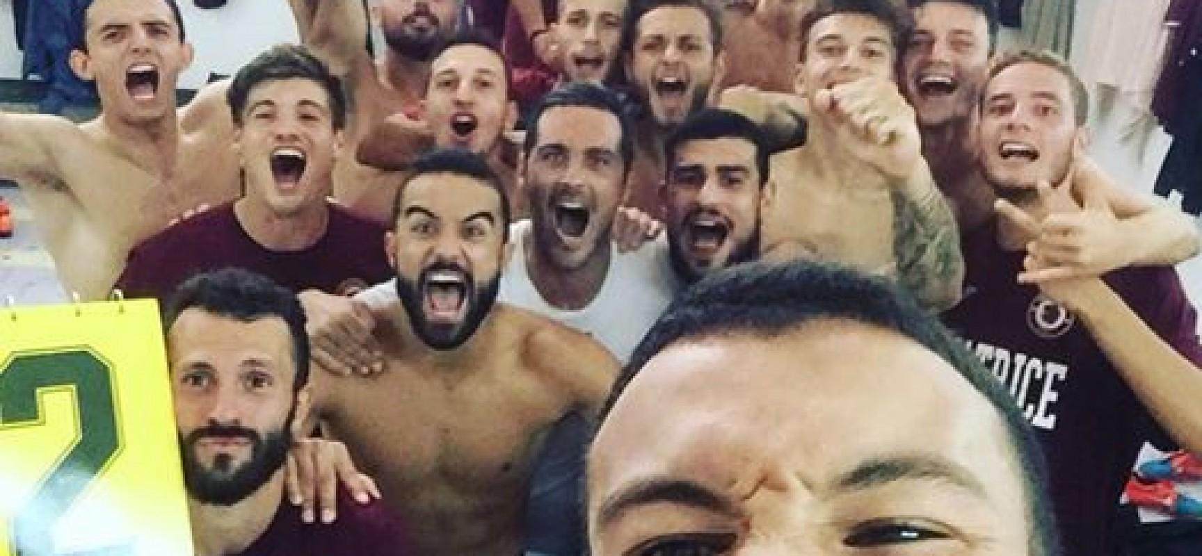 Impresa del Trastevere a Nocera, gli amaranto vincono 2-1.
