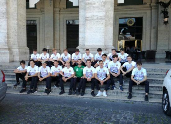 Trastevere Calcio ospite al Viminale.