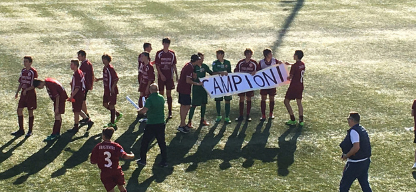 Trastevere campione Allievi Fascia B Provinciali! 1-2 sul Sabazia; Juniores sconfitta a Sansepolcro, decisivo il ritorno sabato al Trastevere Stadium