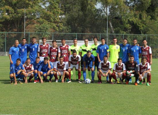 Nazionale Under 20 – Trastevere: il caldo di fine agosto non ha tolto la grinta ai leoni del Rione