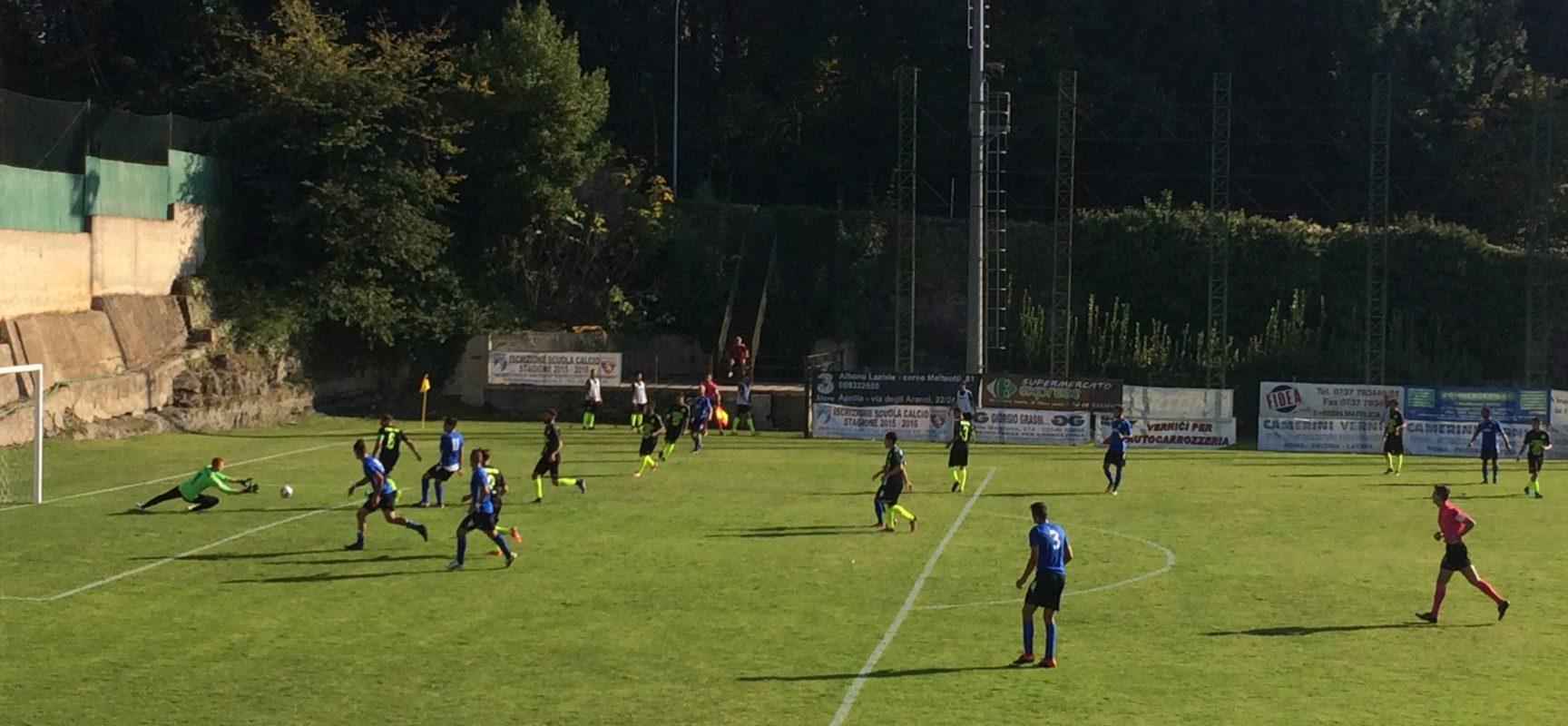 Coppa Italia Serie D: stop per il Trastevere, passa l'Albalonga