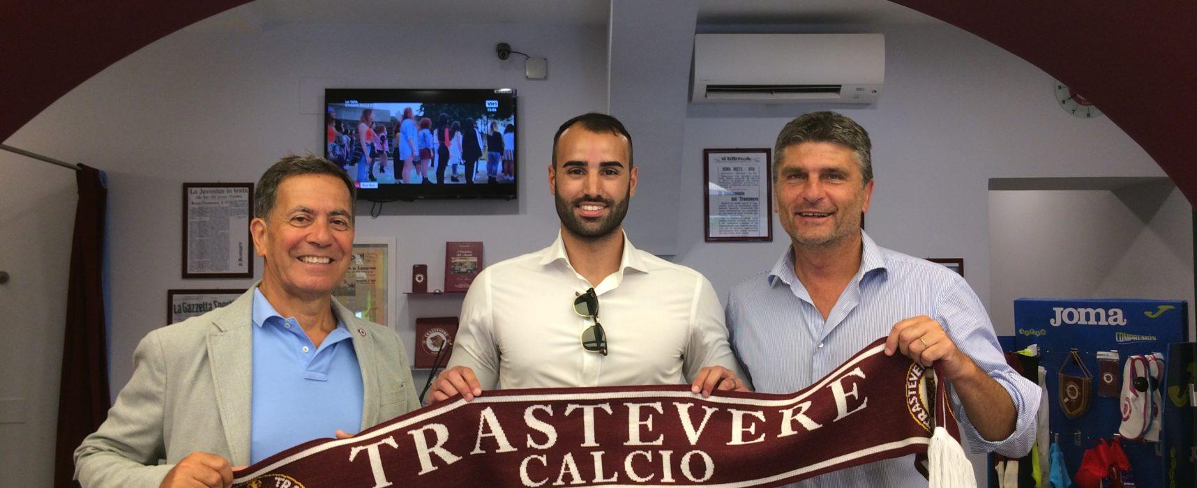 Luca Locci, nuovo arrivo al Trastevere calcio