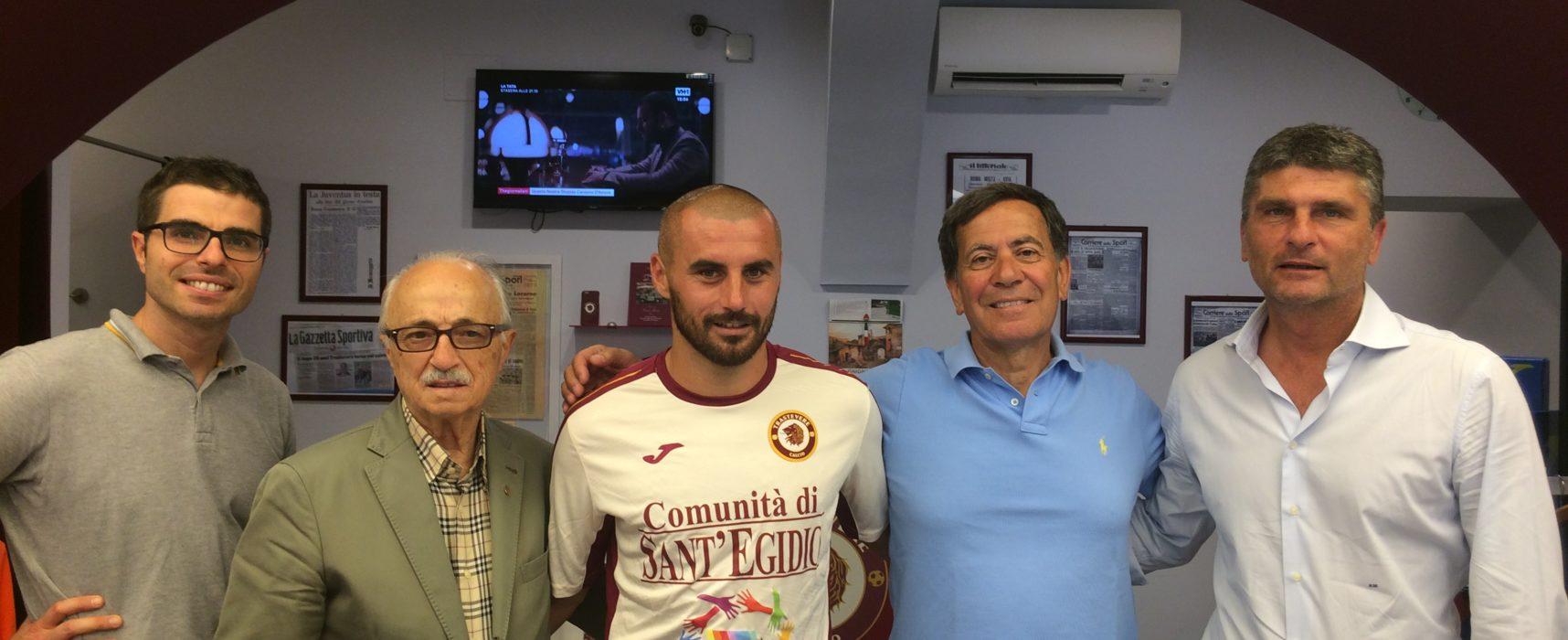 Stefano Tajarol torna al Trastevere