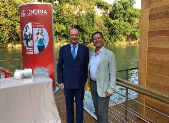 """Il Presidente Betturri all'inaugurazione del circolo """"Ondina"""""""
