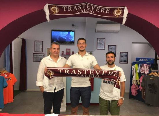 Serie D, a Trastevere arriva Luca Borrelli