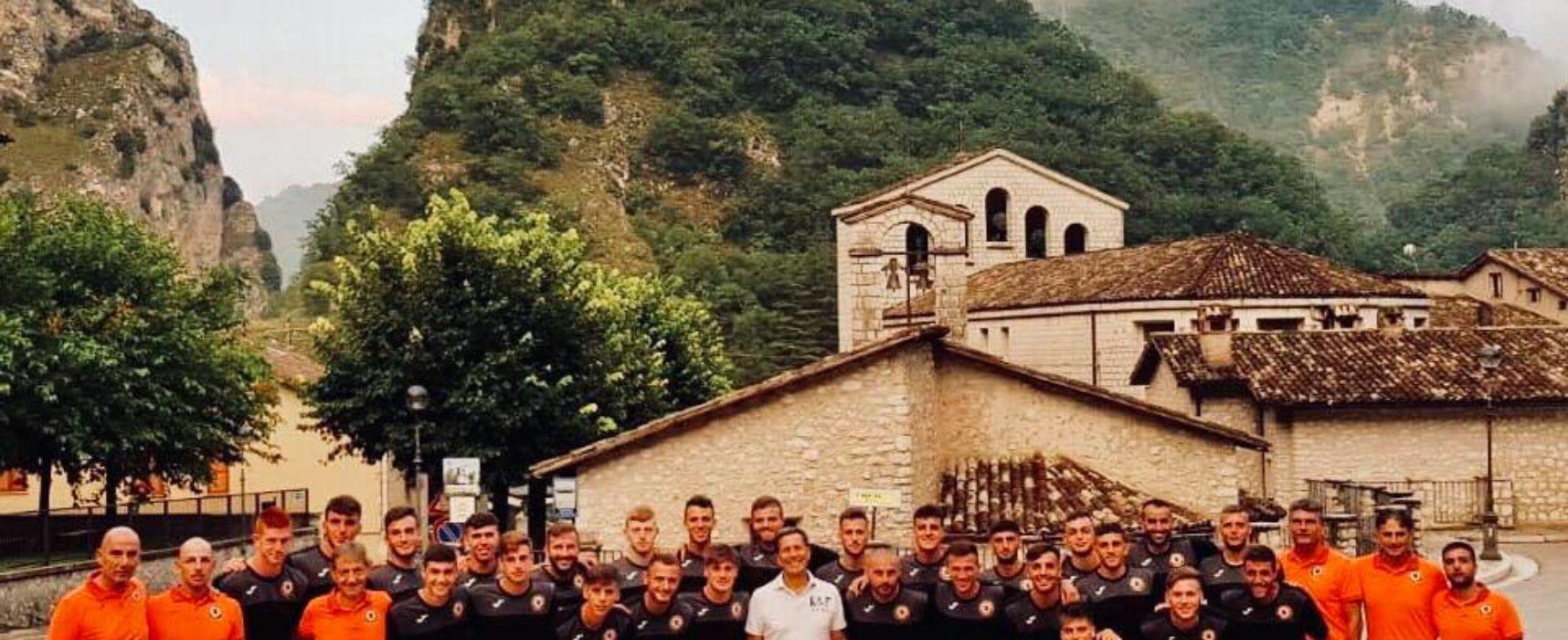 Ritiro, day 3: visita del Presidente Betturri