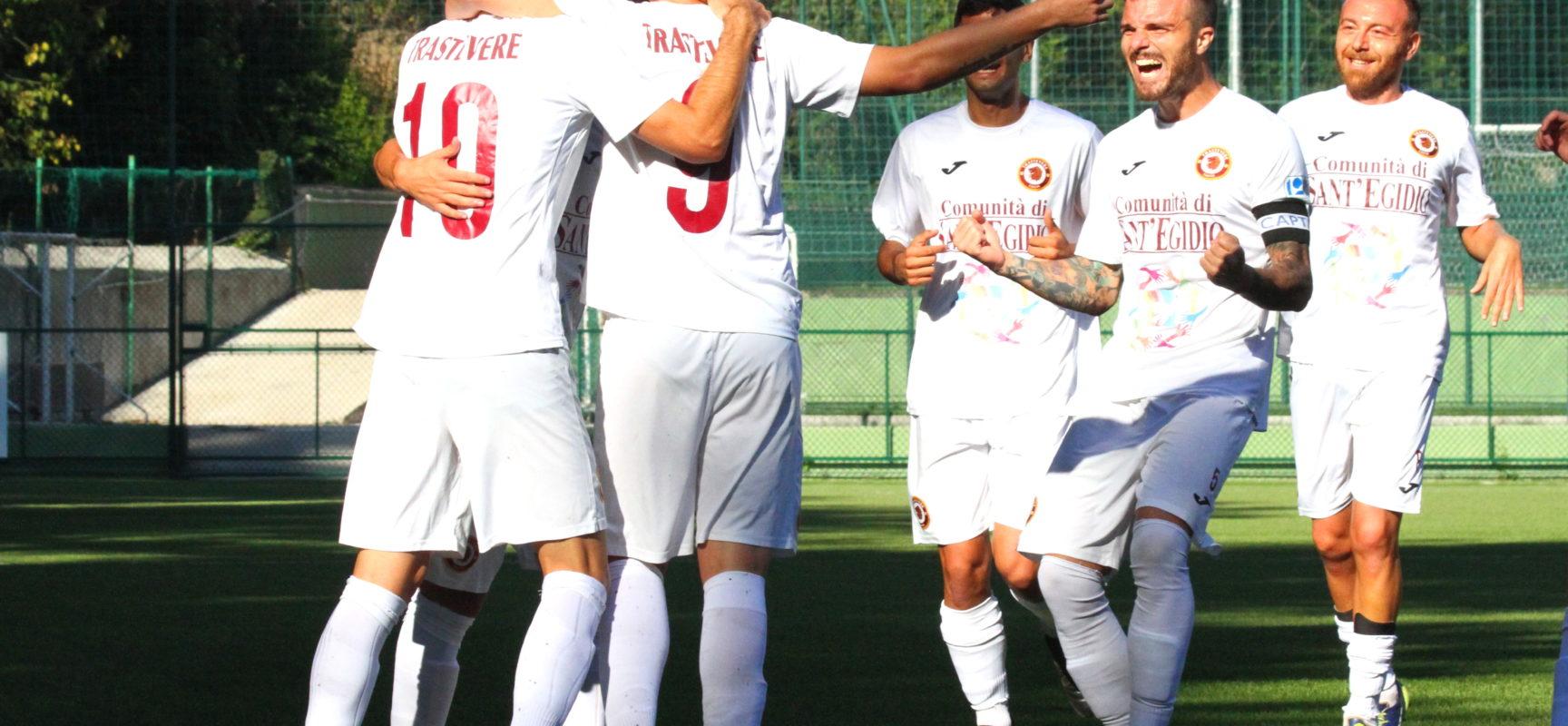 Il Trastevere vince il derby romano e resta solo in vetta alla classifica