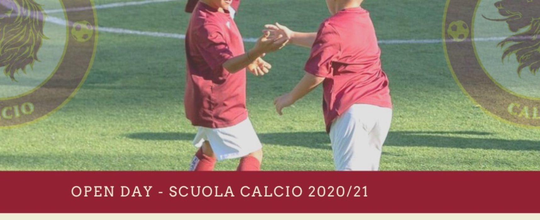 OPEN DAY SCUOLA CALCIO 2020/21