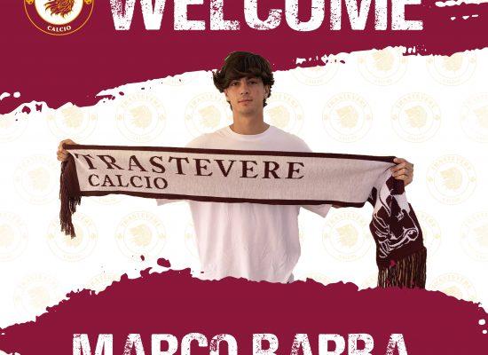 Marco Barba nuovo calciatore del Trastevere