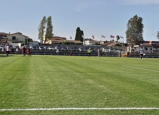 Sannipoli-gol: il Trastevere supera il test Nuova Florida