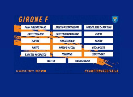 Girone F: il calendario della stagione 2021/22