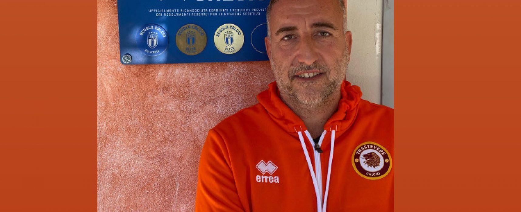 Cristiano Scifoni responsabile della Scuola Calcio