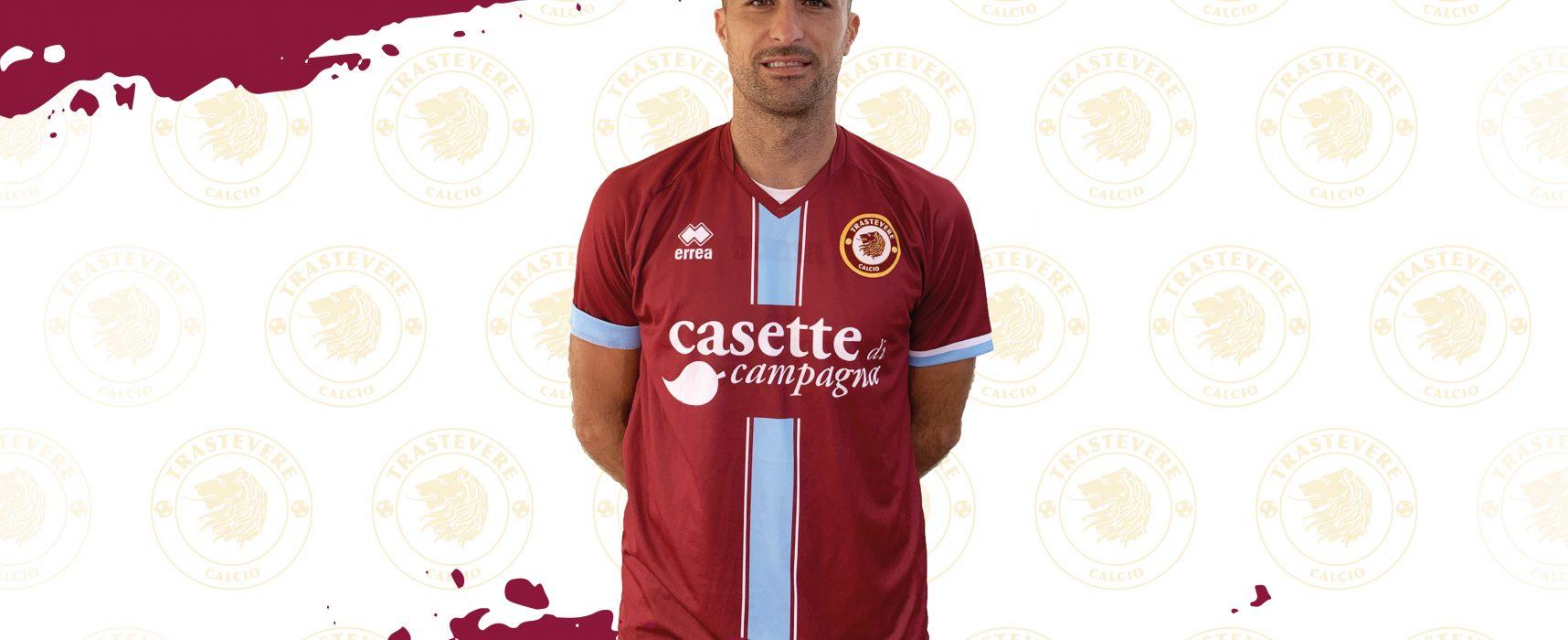Giordano Fioretti nuovo calciatore del Trastevere